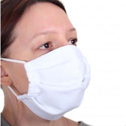 Masque blanc lavable en...