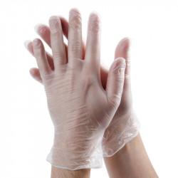 Boite de 10 gants en vinyle...