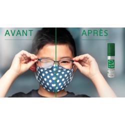 Spray anti-buée nettoyant...