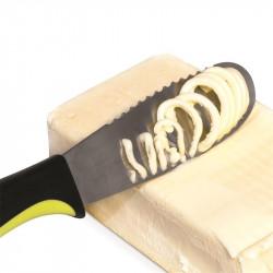 Grossiste et fournisseur. Couteau à beurre dur vert