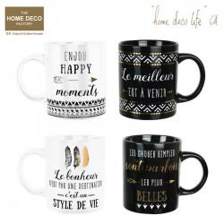 Grossiste et fournisseur. Mug Life en céramique