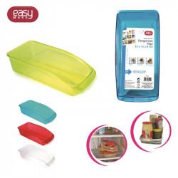 Grossiste et fournisseur. 4 coloris de bacs de rangement frigo