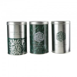 'Natural Life' tin canister