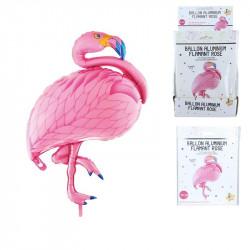 Grossiste et fournisseur. Ballon flamant rose en aluminium