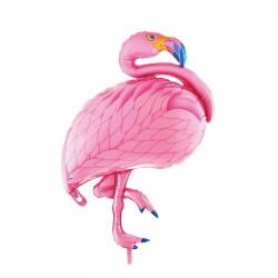 Aluminium foil flamingo...