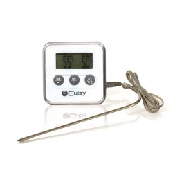 Grossiste et fournisseur de thermomètre à sonde et minuteur blanc