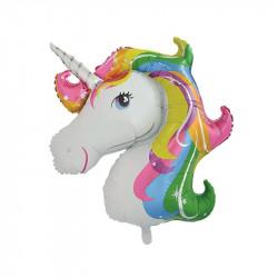 Aluminium foil unicorn...