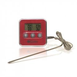 Grossiste et fournisseur de thermomètre à sonde et minuteur rouge