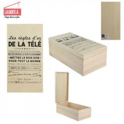 Grossiste. Boîte à télécommandes en bois