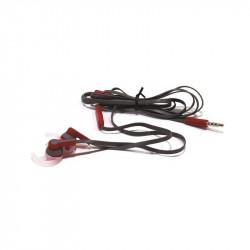 Grossiste et fournisseur. Écouteurs sport MP3 rouge