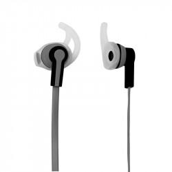 Grossiste et fournisseur. Écouteurs sport MP3 gris