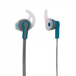 Grossiste et fournisseur. Écouteurs sport MP3 bleus