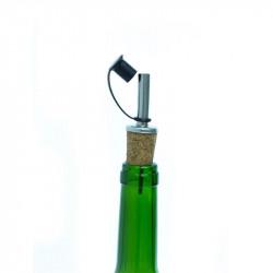 Cork oil dispenser/stopper...