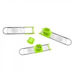 Grossiste et fournisseur. Râpe à épices et à condiments verte.