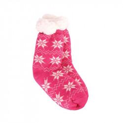 Grossiste et fournisseur. Chaussettes d'enfant hiver rouges.