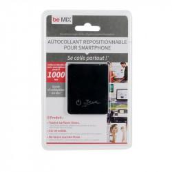 Grossiste et fournisseur. Autocollant repositionnable pour smartphone noir.