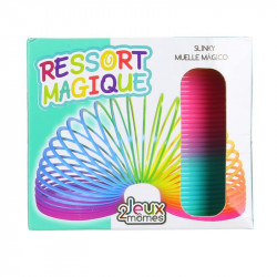 Grossiste et fournisseur. Ressort magique multicolore