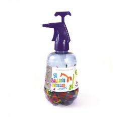 Grossiste et fournisseur. Ballon à modeler x 50 avec pompe violette