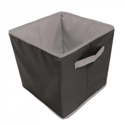 Grossiste et fournisseur. Cube de rangement 30 x 30 cm noir