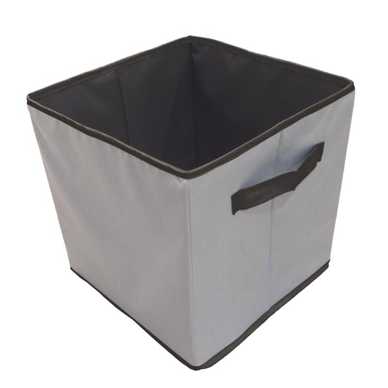 Grossiste et fournisseur. Cube de rangement 30 x 30 cm gris