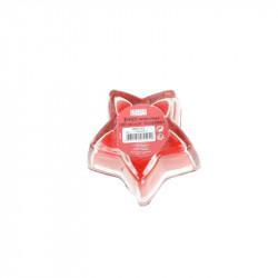 Grossiste. Bougie de Noël en forme d'étoile rouge