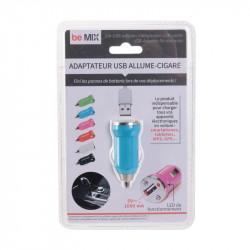 Grossiste. Chargeur USB allume-cigare pour voiture bleu