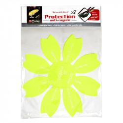 Grossiste. Protège-poêle anti-rayures vert x 2