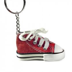 Grossiste et fournisseur. Porte-clés en forme de chaussure rouge