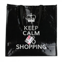"Grossiste. Sac de shopping ""Keep Calm and go shopping"""