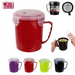Travel mug with lid - 21oz
