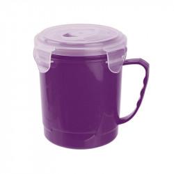 Grossiste. Bol à soupe spécial transport de 63 cl violet.