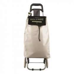 Grossiste. Chariot de courses Bistrot taupe