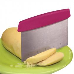 Grossiste et fournisseur. Coupe pâte carré rose