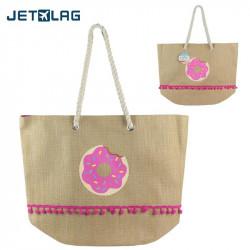 Donut tote shoulder bag