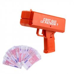 Grossiste. Pistolet distributeur de billets rouge