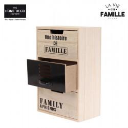 3-drawer storage