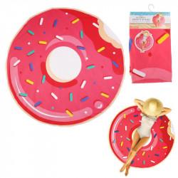 Grossiste. Serviette de plage de 150 cm au design donuts