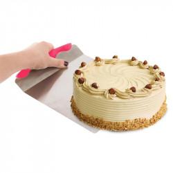 Grossiste et fournisseur. Pelle à gâteau en inox rouge
