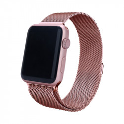 Grossiste. Bracelet milanais pour Apple Watch 38/40 mm - Rose or