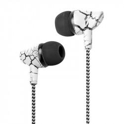 Grossiste. Écouteurs intra-auriculaires jack 3.5mm - Marbre blanc