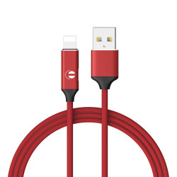 USB cable to Lightning - Red