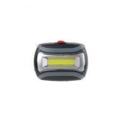 Grossiste. Lampe Frontale LED COB grise