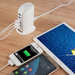 5A 5-Port USB charger with...
