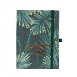 Grossiste. Carnet de notes Natural way of life vert
