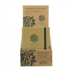 Grossiste. Carnet de notes Natural way of life beige