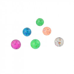 Bouncing ball with stars x6