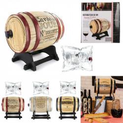 Grossiste et fournisseur. Distributeur à vin tonneau 5 L