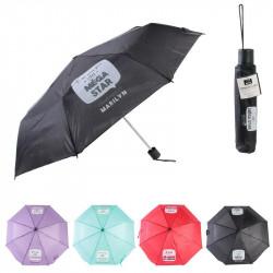 Grossiste. Parapluie pliable avec message