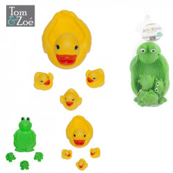 Rubber floating animal toy  x4