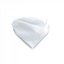 Grossiste. Bavoir bandana gris x 2